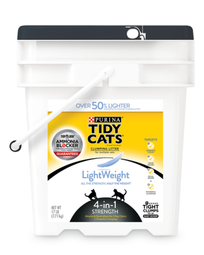 Picture of Purina Tidy Cats Lightweight 4-in-1 Strength Cat Litter - 17 lb.