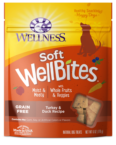 Picture of Wellness Grain Free WellBites Turkey & Duck Recipe - 6 oz.