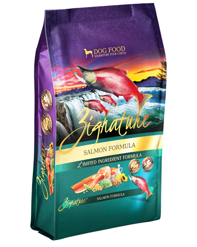 Picture of Zignature Grain Free Limited Ingredient Salmon Formula - 4 lbs.