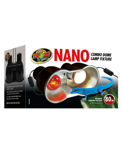 Picture of ZooMed Labs Combo Nano Deep Dome Dual Lamp Fixture