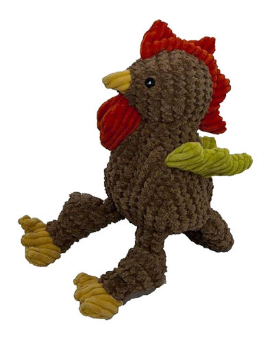 """Picture of Huggle Hounds Knotties Rooster Large - 16"""""""