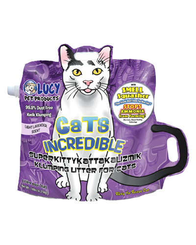 Picture of Lucy Pet Cats Incredible Lavender Scented Clumping Litter - 14 lb.