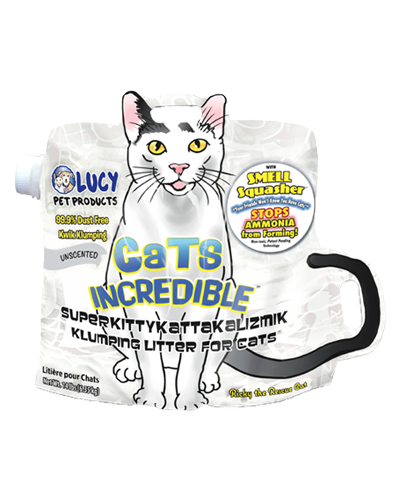Picture of Lucy Pet Cats Incredible Unscented Clumping Litter - 14 lb.
