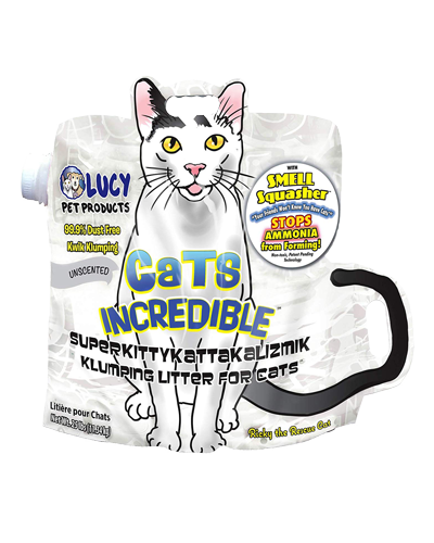 Picture of Lucy Pet Cats Incredible Unscented Clumping Litter - 25 lb.