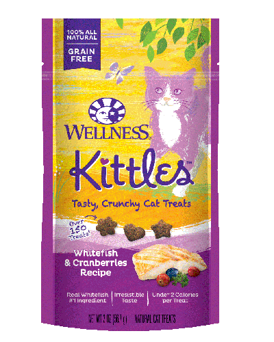Picture of Wellness Kittles Grain Free Whitefish & Cranberries - 2 oz.