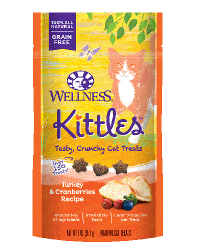 Picture of Wellness Kittles Grain Free Turkey & Cranberries - 2 oz.