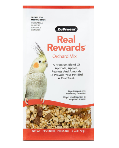 Picture of Zupreem Real Rewards Orchard Mix For Medium Birds - 6 oz