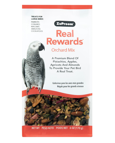 Picture of Zupreem Real Rewards Orchard Mix For Large Birds - 6 oz