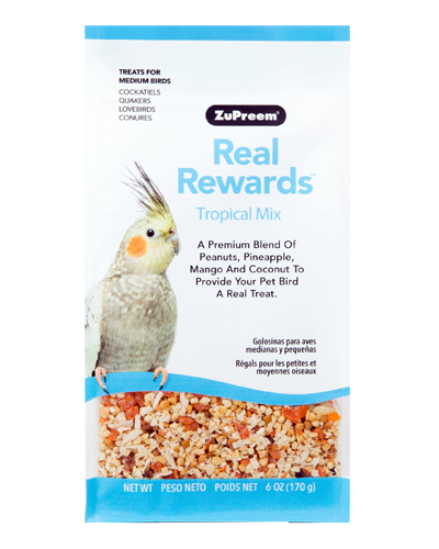 Picture of Zupreem Real Rewards Tropical Mix For Medium Birds - 6 oz