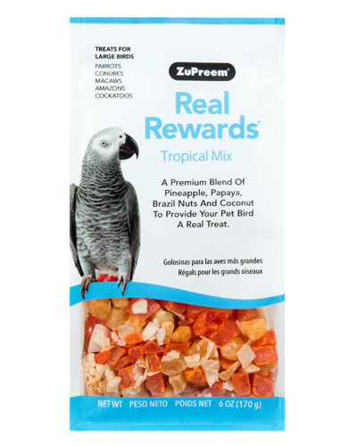 Picture of Zupreem Real Rewards Tropical Mix For Large Birds - 6 oz