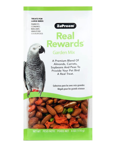 Picture of Zupreem Real Rewards Garden Mix For Large Birds - 6 oz