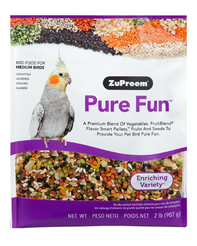 Picture of Zupreem Pure Fun for Medium Birds - 2 lb.