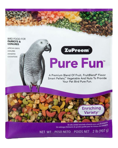 Picture of Zupreem Pure Fun for Parrots & Conures - 2 lb.