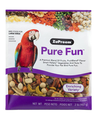 Picture of Zupreem Pure Fun for Large Birds - 2 lb.