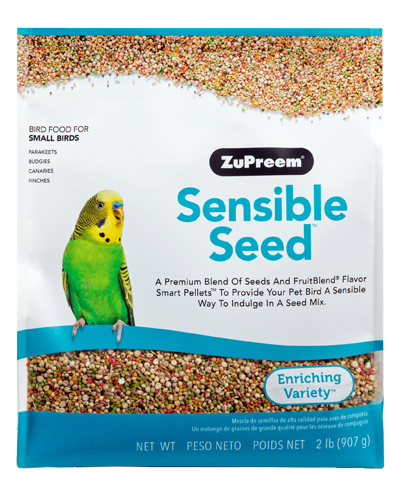 Picture of Zupreem Sensible Seed for Small Birds - 2 lb.