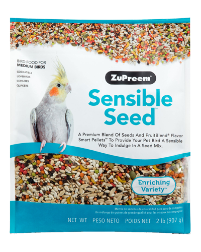 Picture of Zupreem Sensible Seed for Medium Birds - 2 lb.