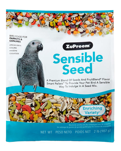 Picture of Zupreem Sensible Seed for Parrots and Conures - 2 lb.