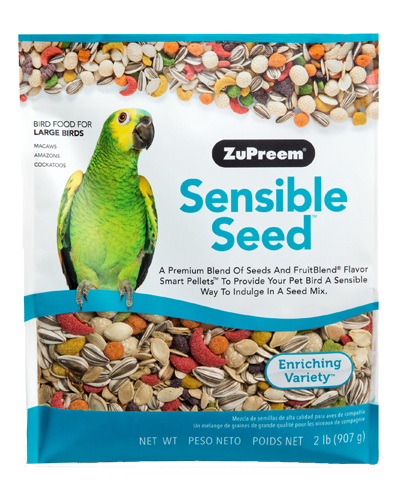 Picture of Zupreem Sensible Seed for Large Birds - 2 lb.