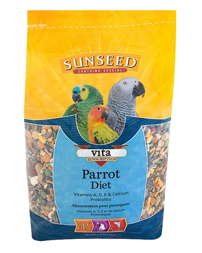 Picture of Sunseed Vita Sunscription Parrot Diet - 6 lb.