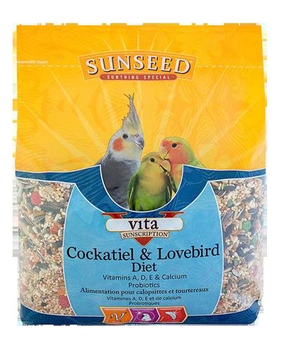 Picture of Sunseed Vita Sunscription Cockatiel & Lovebird - 5 lb.