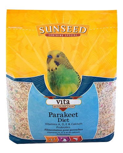 Picture of Sunseed Vita Sunscription Parakeet Diet - 5 lb.