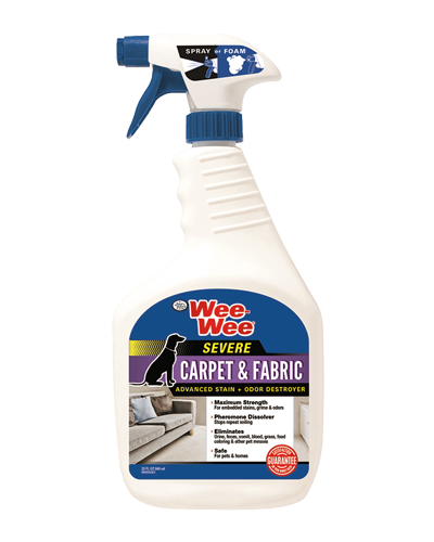 Picture of Four Paws Wee Wee Severe Carpet Stain & Odor Remover - 32 oz