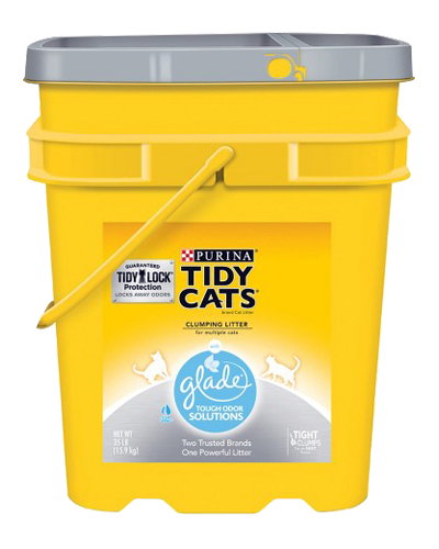 Picture of Purina Tidy Cats Glade Tough Odor Solutions Cat Litter - 35 lb.