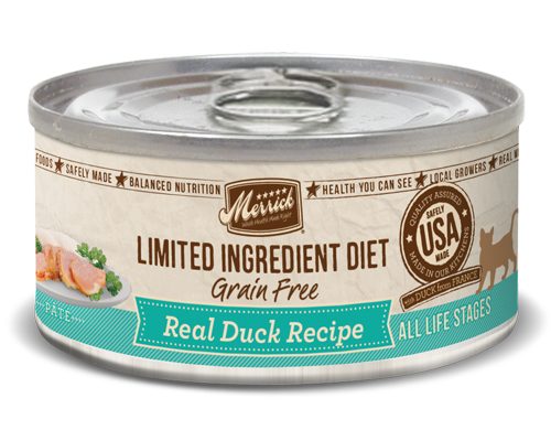Picture of Merrick Limited Ingredient Diet Grain Free Real Duck Recipe - 5 oz.