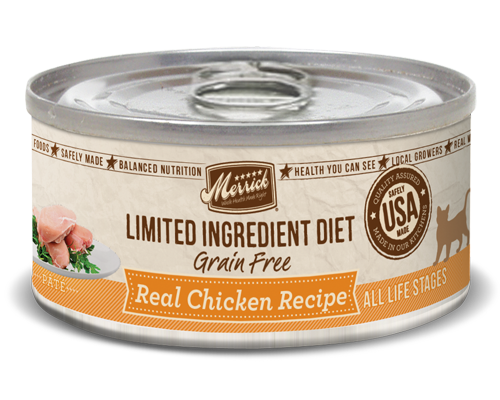 Picture of Merrick Limited Ingredient Diet Grain Free Real Chicken Recipe Pate - 5 oz.