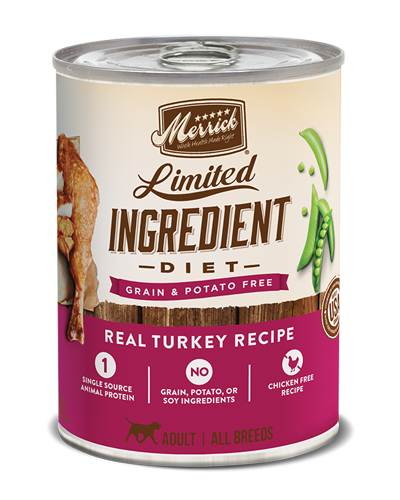 Picture of Merrick Limited Ingredient Diet Grain Free Real Turkey Recipe - 12.7 oz.