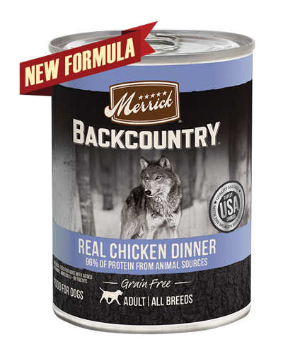 Picture of Merrick Backcountry Grain Free Real Chicken Dinner - 12.7 oz.