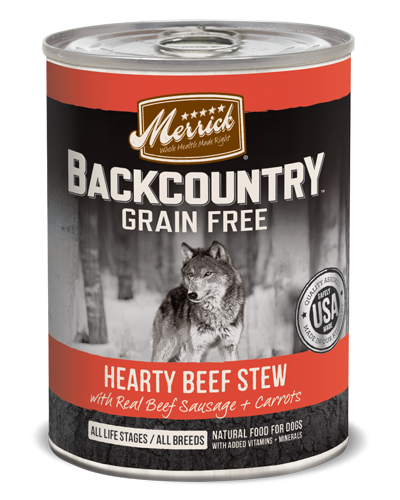 Picture of Merrick Backcountry Grain Free Hearty Beef Stew - 12.7 oz.
