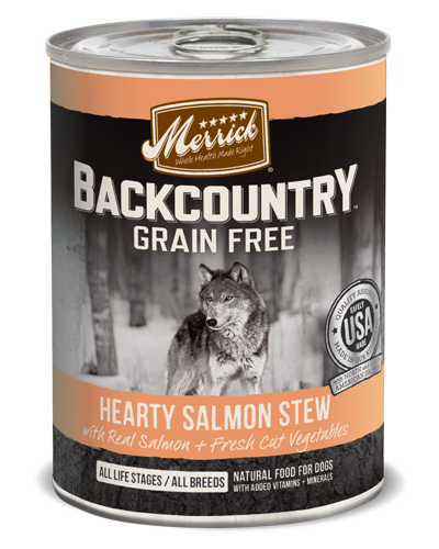 Picture of Merrick Backcountry Grain Free Hearty Salmon Stew - 12.7 oz.
