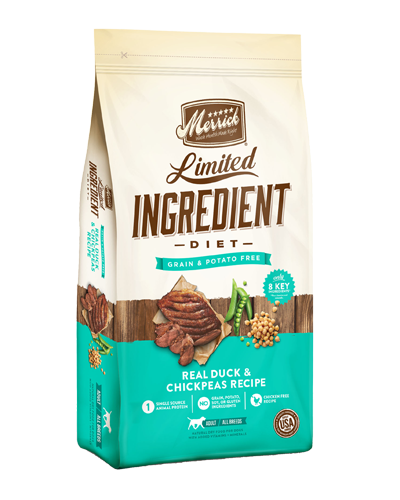 Picture of Merrick Limited Ingredient Diet Grain Free Real Duck + Sweet Potato Recipe - 4 lbs.