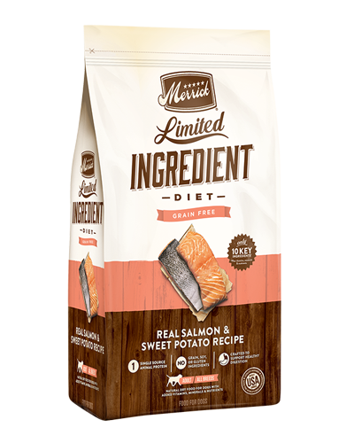 Picture of Merrick Limited Ingredient Diet Grain Free Real Salmon + Sweet Potato Recipe - 12 lbs.