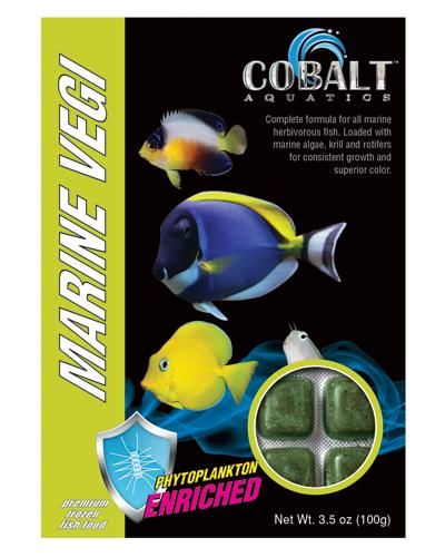 Picture of Cobalt Frozen Marine Vegi Cubes - 3.5 oz.