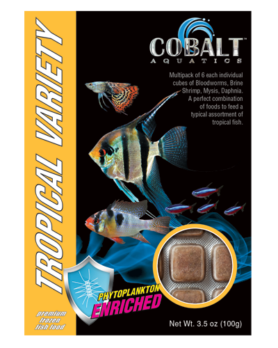 Picture of Cobalt Frozen Tropical Variety Cubes - 3.5 oz.
