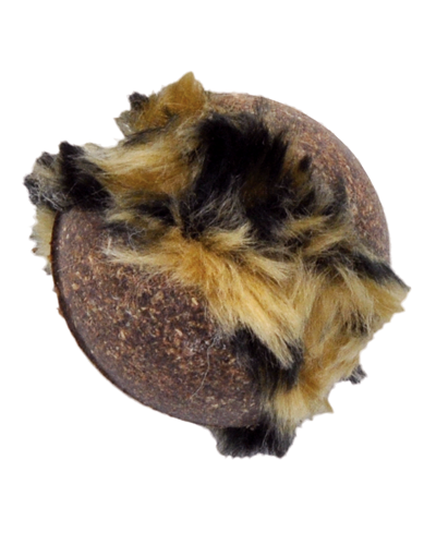 Picture of Coastal Turbo Compressed Ball Catnip Toy with Tail