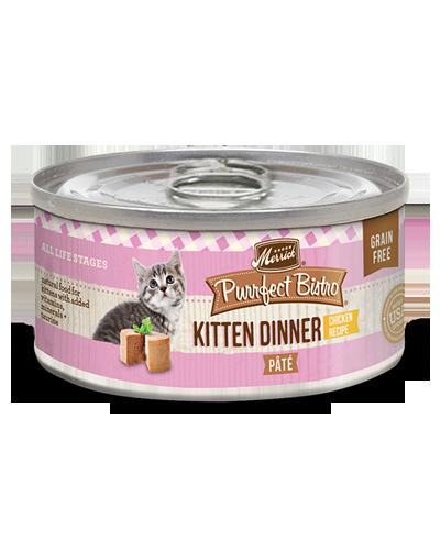 Picture of Merrick Purrfect Bistro Grain Free Kitten Dinner Pate with Chicken - 3 oz.