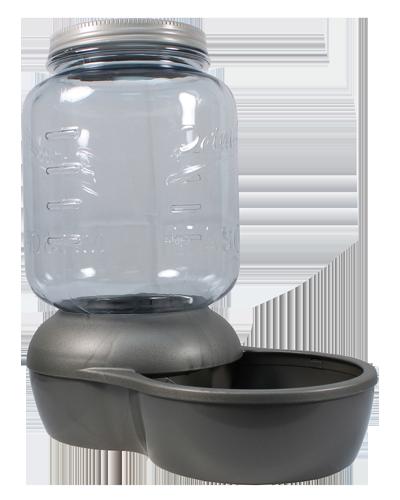 Picture of Petmate Mason Jar Replendish Dry Dog Food Feeder 5 lb