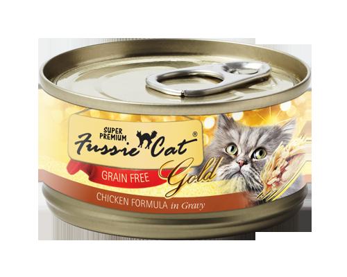 Picture of Fussie Cat Super Premium Chicken in Gravy Recipe - 2.82 oz.