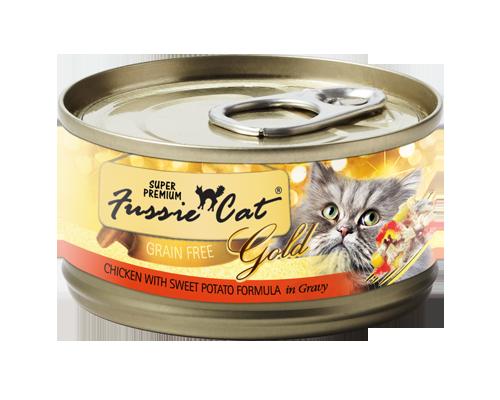 Picture of Fussie Cat Super Premium Chicken with Sweet Potato Recipe - 2.82 oz.