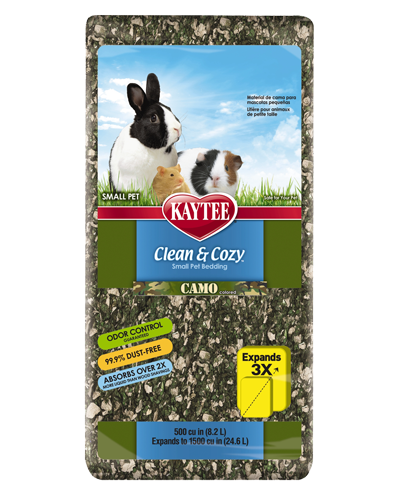 Picture of Kaytee Clean & Cozy Camo Bedding - 8.2 L