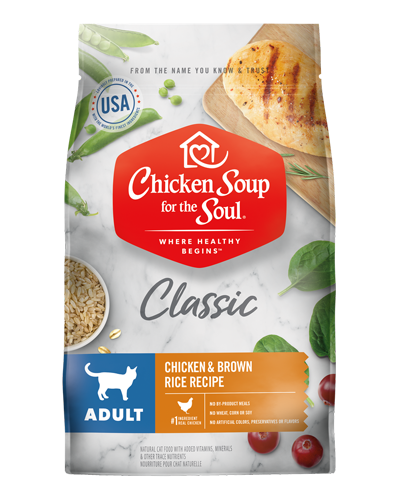Picture of Chicken Soup for the Soul Adult Dry Cat Formula with Chicken - 15 lb.