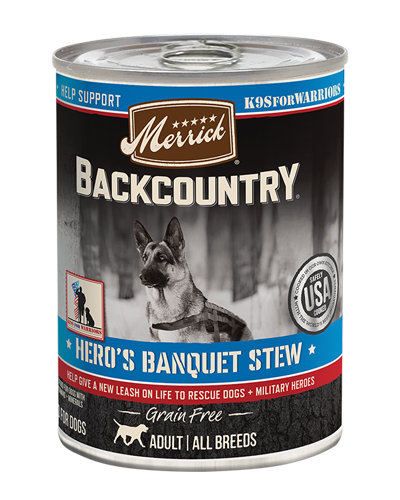 Picture of Merrick Backcountry Grain Free Hero's Banquet Stew with Beef - 12.7 oz.