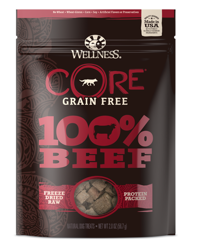 Picture of Wellness Grain Free CORE 100% Freeze Dried Beef -  2 oz.