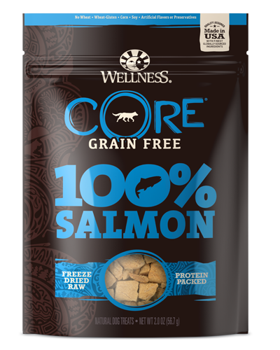 Picture of Wellness Grain Free CORE 100% Freeze Dried Salmon -  2 oz.