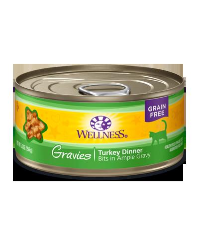 Picture of Wellness Grain Free Complete Health Gravies Turkey Dinner - 3 oz.