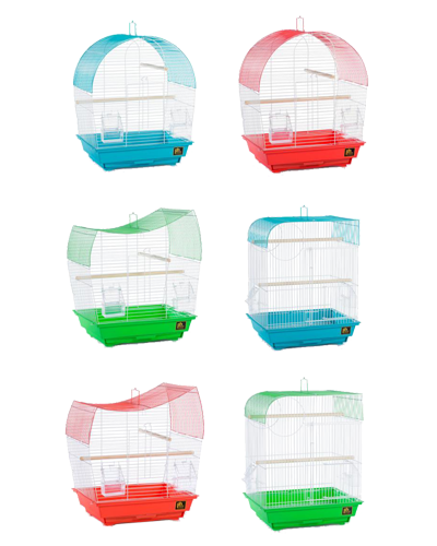 Picture of Prevue Southbeach Cage - 6 Assorted Colors / Shapes