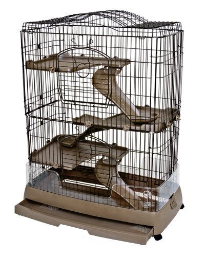 "Picture of Ware Clean Living 4 level Small Animal Cage - 19"" x 36.5"" x 46"""